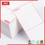 Etiqueta autoadhesiva termal adhesiva