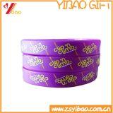 Le meilleur bracelet coloré fait sur commande de vente de silicones