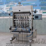 Automático lubricar la máquina de etiquetado del petróleo y la máquina de rellenar