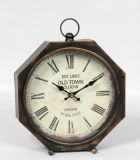 أثر قديم معدنة ساعة مع [هيغقوليتي]