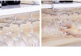Het Hangende Rek van het Glas van de wijn onder het Rek van het Glas van Roestvrij staal 304 van het Rek van Stemware van de Staaf van de Opslag van de Keukenkast Stevige Hangende