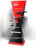 ثلاثة صفّ خشبيّة يستعمل ملاءمة مخزن تجهيز [ديسبلي كس] لأنّ مركز تجاريّ بيع بالجملة