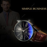 Reloj impermeable de la venta del reloj del asunto de los hombres H315 de Yazole del reloj caliente del cuarzo para los hombres