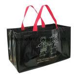 A impressão colorida da alta qualidade segurou o saco de compra tecido PP do supermercado