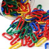 Пластичное геометрическое образование звена цепи учя игрушку