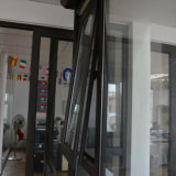 Perfil de alumínio da ruptura Kz230 térmica para fora aberto e indicador pendurado superior com multi fechamento