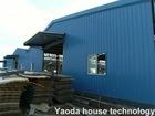 Edificios aislados modificados para requisitos particulares de la estructura de acero