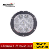 CREE Hot Headlight Offoad Driving Light (SM6062-90A) di 7inch 9 LED