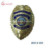 صفّح صنع وفقا لطلب الزّبون بالجملة [3د] معدن شرطة شارة
