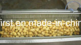 Чистка картошки ролика щетки и машина шелушения