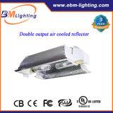 630W Gekoelde Reflector Hydroponic HPS/CMH van de Output van de Ballast van CMH kweekt de TweelingLucht Lichte Uitrustingen 600watt