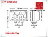 7 phare de la lumière DEL de travail de pouce 33W DEL pour le SUV, camion