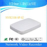 Dahua 8 채널 지능적인 1u 8poe 라이트 비디오 녹화기 (NVR2108-8P-S2)