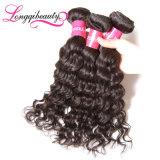 Cabelo Curly do Virgin da onda profunda brasileira verdadeira quente do comprimento de Sael