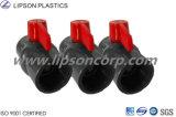 Vávula de bola industrial del PVC CPVC Dn75