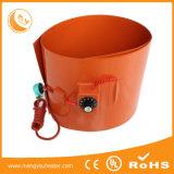 Calefator do cilindro de petróleo do silicone, calefatores plásticos do tambor do metal do biodiesel do petróleo de silicone