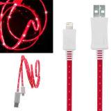 USB Cable 3ft СИД Flashing для iPad iPhone/или мобильного телефона Samsung