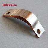 Connecteur électrique de barre omnibus de cuivre flexible