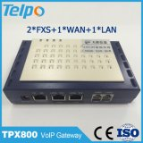 Made in China Suporte de alta qualidade Switch local SIP FXS ATA VoIP 2 Pots