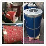 Bobina de acero cubierta 2016 colores PPGL del Galvalume
