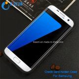 Cella Phone Caso per Samsung, Credit Card Holder Caso