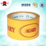 Cinta adhesiva del embalaje con insignia de la compañía