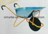 Trole da mão/caminhão de mão/Wheelbarrow com punho curvado