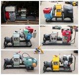 Grue de treuil actionnée par engine de câble métallique, grue, grue de câble métallique, grue de levage, grue de construction, grue de l'essence/Diesel/Electric