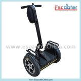 Mini vespa eléctrica de Uno mismo-Equilibrio del carro de Ecorider 2-Wheel