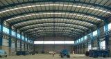 Costruzione chiara della tettoia del gruppo di lavoro del magazzino della struttura d'acciaio di alta qualità del blocco per grafici