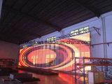 유리창 건물을%s 옥외 방수 투명한 격자 발광 다이오드 표시 LED 지구 스크린