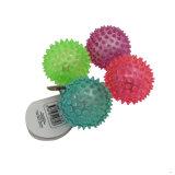 子供の圧搾LEDライトゴムボールのおもちゃ(MQ-LB06)