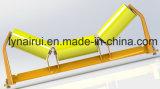 O rolo do portador do transporte de correia, rolo do retorno, através do rolo, rolo da transição, rolo de formação aplica-se para a mineração/cimento/produto químico/maquinaria