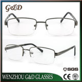 La última lente de Eyewear del marco del metal del diseño óptica