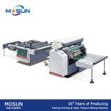 Máquina de estratificação quente semiautomática de Msfy-1050m Glueless para o papel