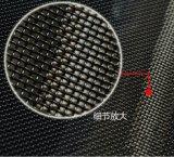 Schermo a prova di proiettile rivestito della finestra di obbligazione della polvere nera 0.8mm*11mesh SUS304