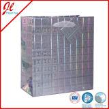 Saco de compra lustroso superior do papel revestido de papel de embalagem Do saco do presente do papel de qualidade com impressão de cor