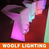 Club Moderne LED-Licht beleuchtet Barhocker