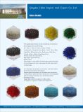 Perles de verre colorées, perles décoratives Irregualr