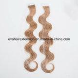 Fita européia de Remy das cutículas cheias na extensão do cabelo humano no estoque