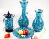 Nuance à la maison de lanterne/lampe en verre de mosaïque de décoration