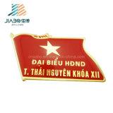 Горячий Pin флага золота металла Вьетнама эмали сплава цинка продуктов