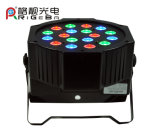 Träger LED NENNWERT Licht des Patay Stadiums-Licht-PAR47 18LEDs 1W RGB