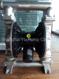 Pompe de circulation brute pneumatique d'acier inoxydable de transfert