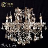 Lámpara cristalina de lujo de la lámpara del diseño moderno (AQ50039-6)