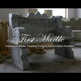 Witte Marmeren Stoel voor Decoratie mbt-1184 van het Huis