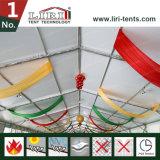 de Grote Tent van de Breedte van 15m met het Systeem van de Muur van het Glas voor Catering 200 de Capaciteit van Mensen