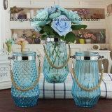 Vaso di vetro di Crackle libero Handmade caldo di vendita per la decorazione della stanza