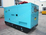 建築プロジェクトのためのLovolエンジン1004tgを搭載する63kVA防音のディーゼル発電機