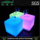 Cubo chiaro della mobilia della decorazione LED delle feci di barra (LDX-C05)